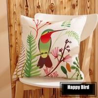 Sarung Bantal - Happy Bird