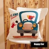 Sarung Bantal - Happy Car