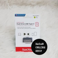 Sandisk Flashdisk Usb 3 Otg Type C 32GB - Up To 130 MB/S