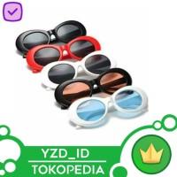 Kacamata bulat Model Retno Steampunk Rock Cool Trendy