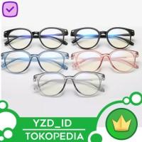 Kacamata ( Design Korea) Pria Wanita Anti Radiasi Transparant