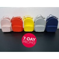 Promo Tas Selempang Silikon Jelly Water Cube Miniso Bag
