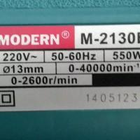 Mesin Bor 13mm Modern M-2130B 28 Pcs Mitra Kecubung