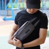 Tas Selempang Pinggang Simple Waist Bag Maritim Super Keren