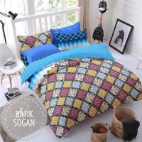Sprei Monalisa Batik Sogan 120x200