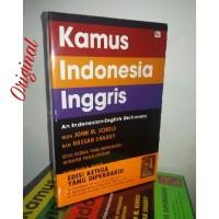 Kamus Bahasa Indonesia Inggris John Echols ( Soft Cover (