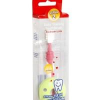 Pigeon Baby Training Toothbrush Lesson 2 / Sikat Gigi Bayi (8M+)
