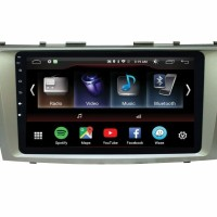 HEAD UNIT/TV DOUBLE DIN ANDROID TOYOTA CAMRY 4G LTE 9 Inch