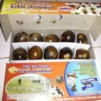 Telur Asin / Telor Asin Brebes Panggang dan Bakar Merk Cah Angon