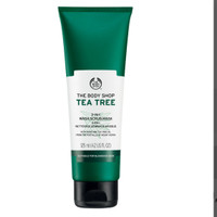The body Shop Tea Tree Mask scrub 3 in 1 Masker Wajah