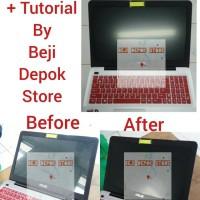 "Anti Glare/Matte Screen Guard Anti Gores Laptop 15"" Universal"