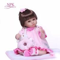 Boneka Reborn NPK Imut 43cm / Boneka Bayi
