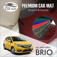 Karpet Mobil Mie Premium ALL NEW BRIO Non Bagasi 1 Warna