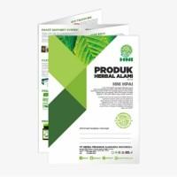 brosur katalog produk herbal Hni/Hpai