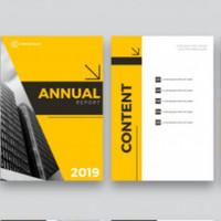 Cetak Buku Laporan Tahunan / Annual Report