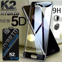 [TEMPERED GLASS 5D] warna K2 PREMIUM QUALITY SAMSUNG J4 PLUS 2018