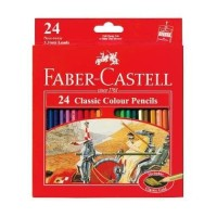 Pensil Warna Faber-Castell 24 Classic Colour Pencils (#115854)