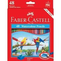 Pensil Warna Faber-Castell 48 Watercolour Pencils (#114468)