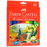 Pensil Warna Faber-Castell 48 Classic Colour Pencils (#115858)