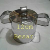 CETAKAN CENDOL DORONG diameter 11,5 cm Tinggi 11,5 cm uk Besar