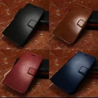 Leather Case Flip Cover Xiaomi Mi Max 3 Flip Dompet Standing