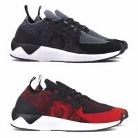 Sepatu Lari Running Ortuseight Radiance - Black Red Navy Original