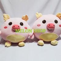 Boneka Babi Pig Bulat Imut SNI
