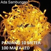 Lampu Tumblr / Lampu Natal LED / Twinkle Light Dekorasi KUNING YELLOW