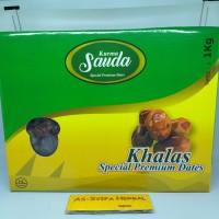 Kurma Sauda Khalas 1 Kg premium