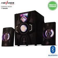 Advance M20BT Speaker Aktif 2.1 Bluetooth Multimedia Subwoofer BASS
