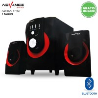 Advance M250BT Speaker Aktif 2.1 Bluetooth Multimedia Subwoofer BASS