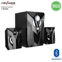 Speaker Aktif Bluetooth Advance M10BT USB Subwoofer Bass Portable