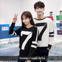 sweater couple seven | sweater tebal | pusat sweater terlengkap