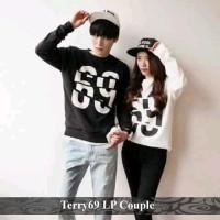 sweatshirt couple | sweater korea | sweater terry 69 lp couple