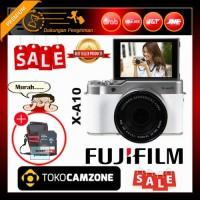 Fujifilm X-A10 / XA10 Kit 16-50mm f/3.5-5.6 OIS II White Free Bonus