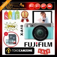 Fujifilm X-A10 / XA10 Kit 16-50mm f/3.5-5.6 OIS II Green Free Memory
