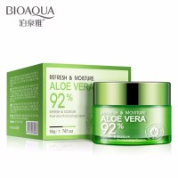 BIOAQUA Original Aloe Vera 92% Serum Wajah Essence Soothing Gel Serum