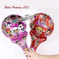 balon lol / balon stick foil lol / balon tongkat lol / balon souvenir