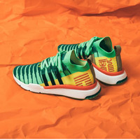 Sepatu Adidas EQT Support Mid Shenron Green X Dragon Ball Z
