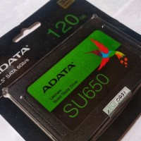 SSD adata 120 gb su650 sata bukan harddisk 500 hardisk 128 laptop 256