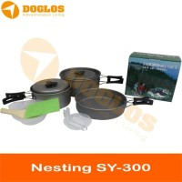 COOKING SET SY-300 Rantang Besar Nesting Portable Panci Outdoor