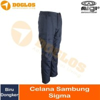 Celana Panjang Sambung Rigi Sigma Outdoor Pants Hiking Navy