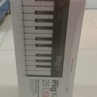 iRig Keys 25 The 25 mini-key USB MIDI controller for Mac/PC