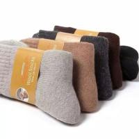 kaos kaki bulu domba / kaos kaki thermal import / socks winter wool