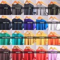 Kaos Polos Katun Bambu Organik (Cotton Bamboo T-Shirt Organic)