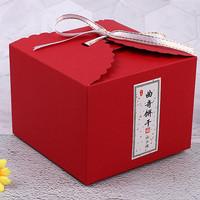 Box / Kotak merah red imlek christmas natal packaging persegi samson