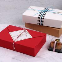 box kotak kado hadiah imlek natal valentine merah red
