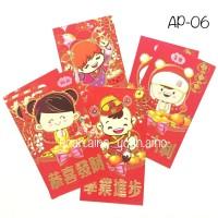 Amplop Angpao Imlek Panjang Hello Kitty HK Pink Doraemon - 05