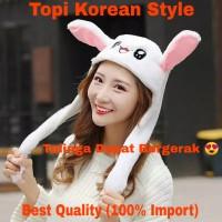 Topi Kelinci Super Cute (Korean Style)