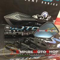 Spion Motogp Tomok V2 Carbon Aerox Nmax Vespa PCX Xmax Vario
